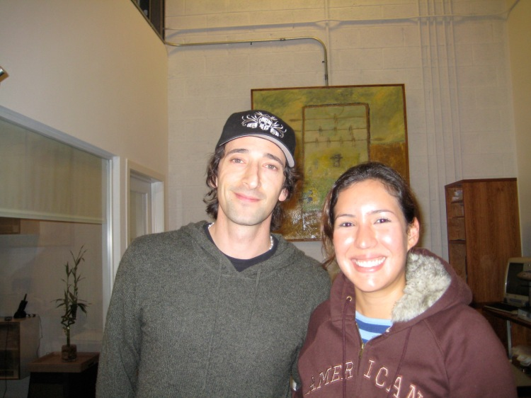 Adrien Brody,Academy Award Winner, produciendo en Upstairs.