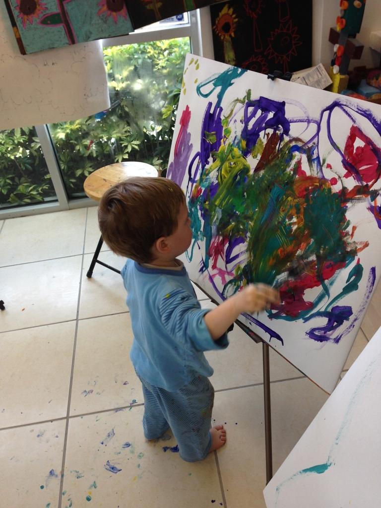 Niños artistas